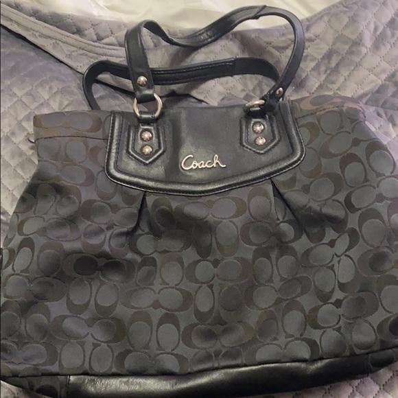 Coach Handbags - Coach Ashley Signature Satchel